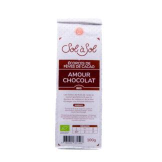 AMOUR CHOCOLAT Rooibos Naranja Corteza de Granos de Cacao