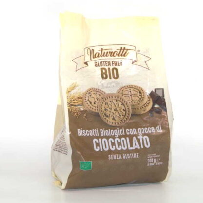 Galletas con Gotas de Chocolate 300gr - biscotti - SIN GLUTEN