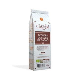 Corteza de Granos de Cacao ( Criollo ) ¡Una deliciosa infusión gourmet que combina la fuerza del cacao y la ligereza del té de hierbas sin calorías!
