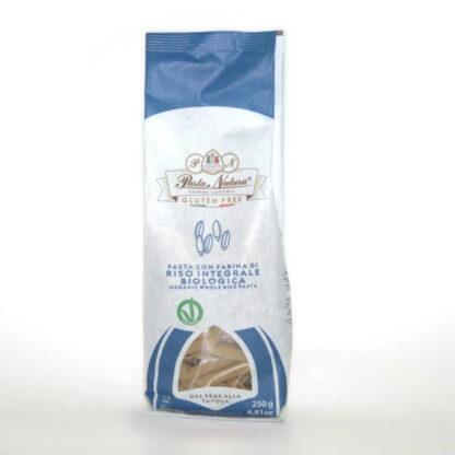Pasta de arroz integral paquete de 250 macarron gramos