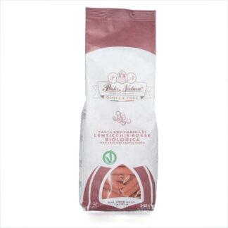Pasta de lenteja roja ecológica sin gluten